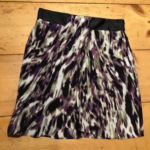 Cynthia Steffe Silk Patterned Skirt